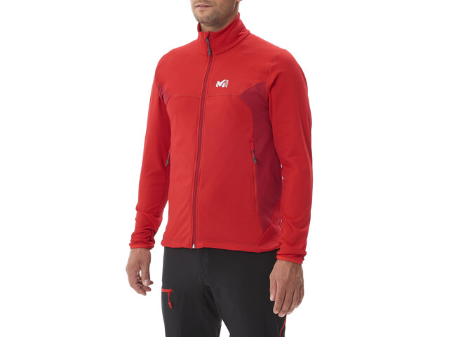 Millet Tech Stretch Light Jacket Men rouge/deep red